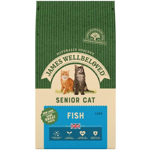 James Wellbeloved Fish Senior Cat Food 4kg
