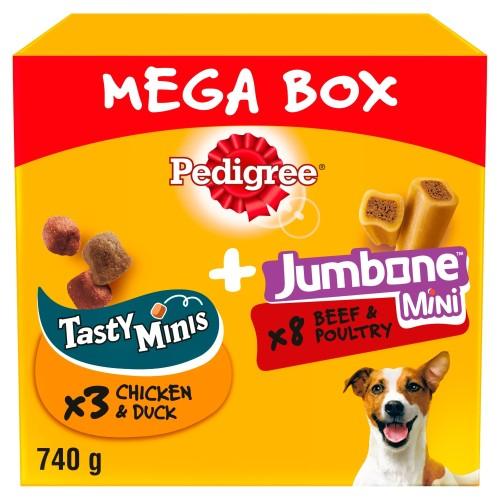 Pedigree Mega Box of Small Dog Treats 740g Mega Box