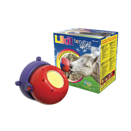 Likit Tongue Twister Horse Toy Red & Purple
