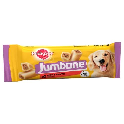 Pedigree Jumbone Beef & Poultry Dog Treats Medium Dogs x 2 Chews
