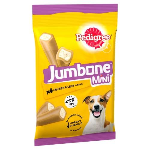 Pedigree Jumbone Chicken & Lamb Dog Treats Small Dogs x 4 Chews