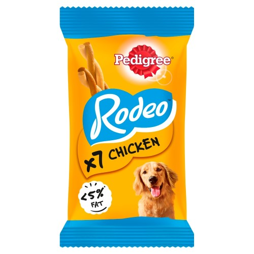 Pedigree Rodeo Chicken Chew Adult Dog Treats 7 Stick