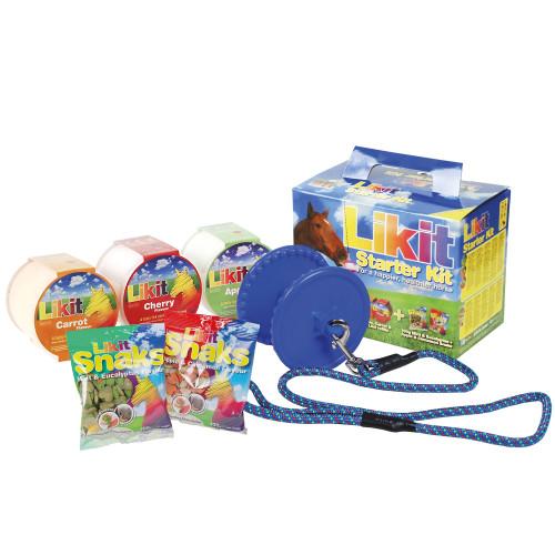 Likit Starter Kit Horse Toy Blue