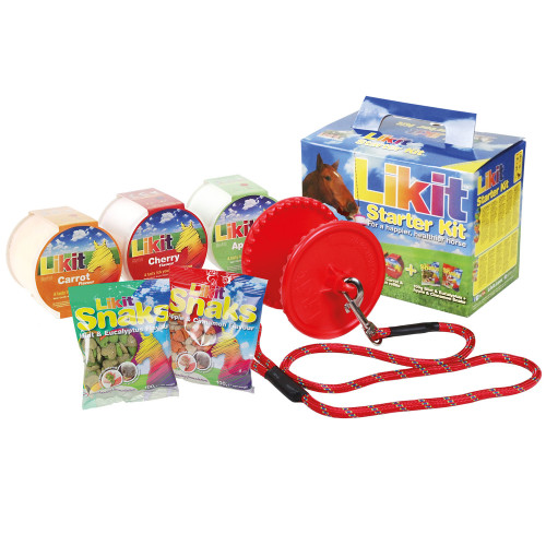 Likit Starter Kit Horse Toy Red