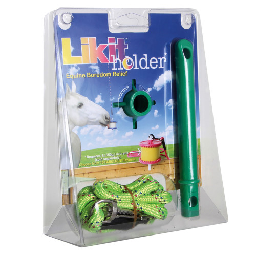 Likit Holder Horse Toy Green