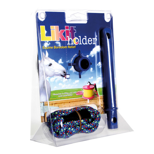 Likit Holder Horse Toy Blue