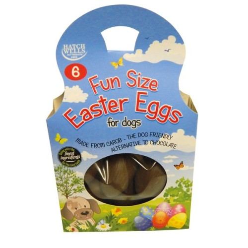 Hatchwells Fun Size Easter Eggs for Dogs 6 Easter Eggs