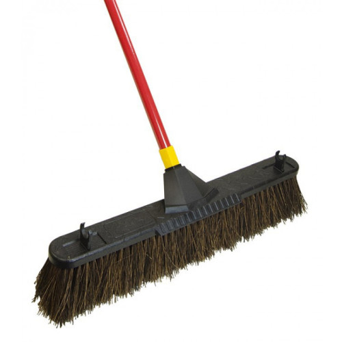 Quickie Bulldozer Yard Broom 18 inch