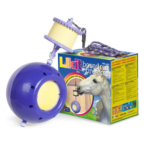 Likit Boredom Breaker Horse Toy Purple & Lilac