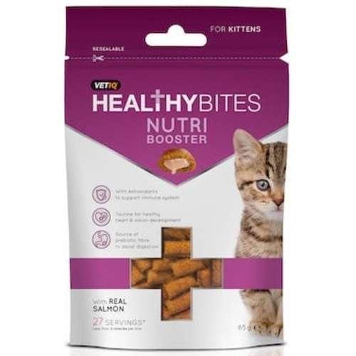 Mark & Chappell VetIQ Nutri-booster Kitten Treats 65g