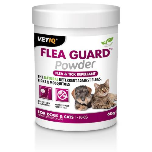 Mark & Chappell VetIQ Flea Guard Powder for Cats & Dogs 60g