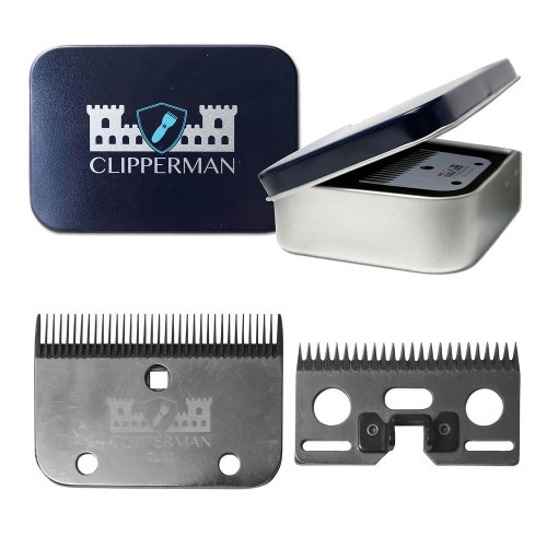 Clipperman CLA2 High Quality Steel Blade Set 3mm 3mm Blade Set
