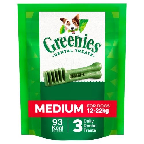 Greenies Regular Dental Dog Treats 85g