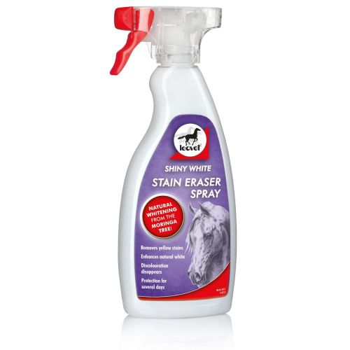 Leovet Shiny White Stain Eraser Spray for Horses 500ml