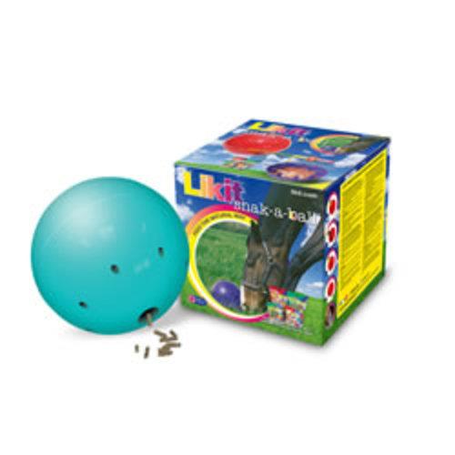 Likit Snak-a-Ball Horse Feeding Ball Aqua