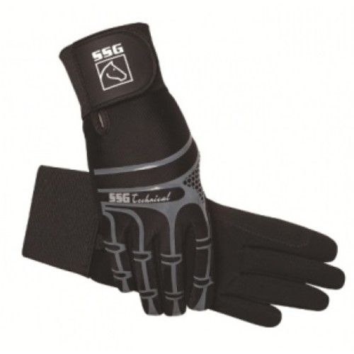 SSG Technical with Wrist Support Riding Gloves Size 9
