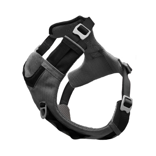 Kurgo Journey Air Dog Harness in Grey Medium