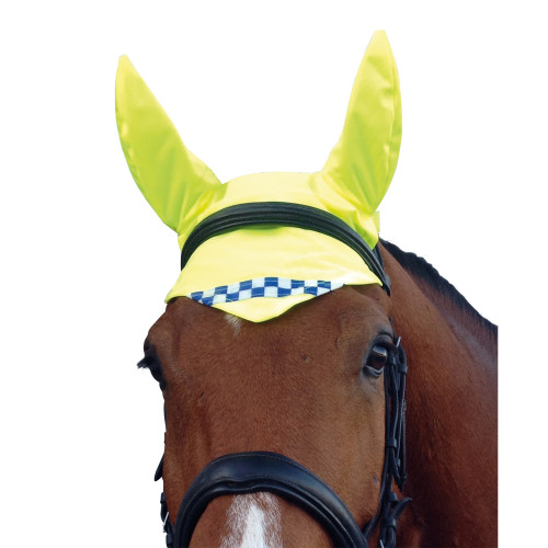 Equisafety Polite Reflective Hi-Visibility Horse Ear Cover Ear Cover