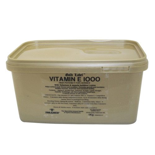 Gold Label Vitamin E 1000 1kg