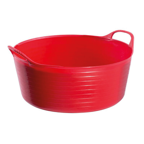 Red Gorilla Small Tubtrug Flexible Shallow Small - Red