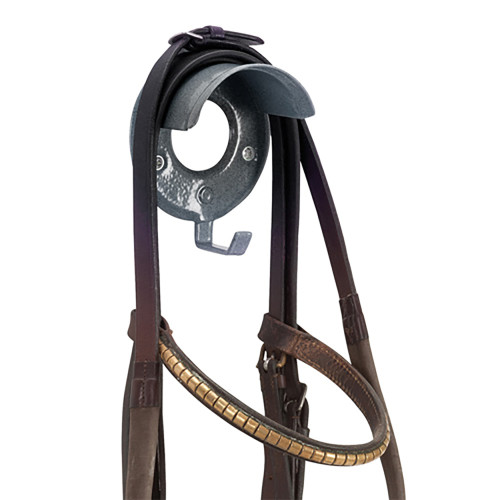 Stubbs Single S20 Bridle Rack Black
