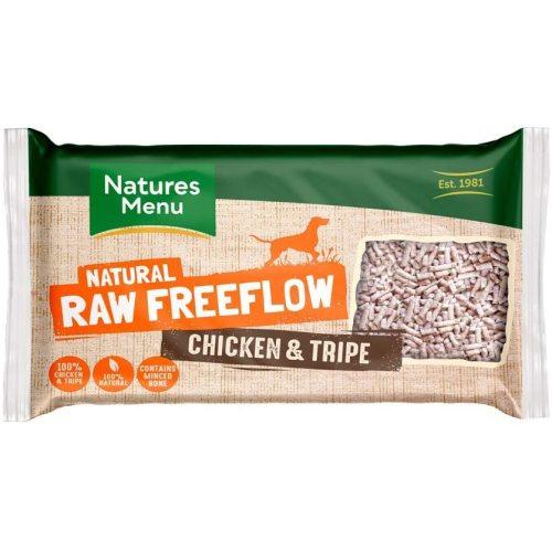 Natures Menu Free Flow Chicken & Tripe Raw Frozen Dog Food 2kg
