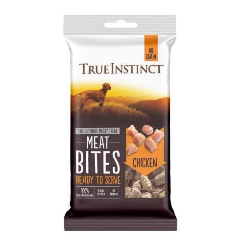 True Instinct Meat Bites Chicken Dog Treats 20g