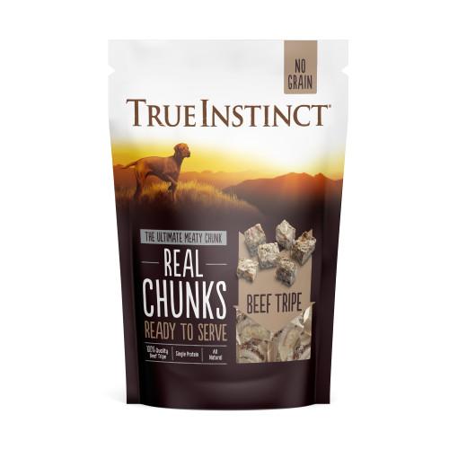 True Instinct Freeze Beef Tripe Real Chunks Dog Food 200g
