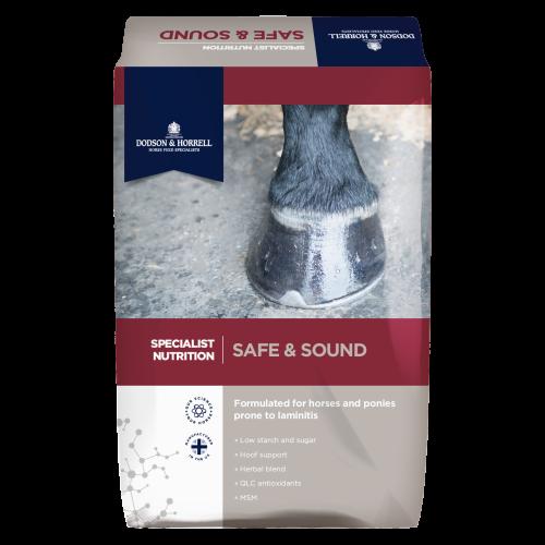 Dodson & Horrell Safe & Sound for Horses 18kg