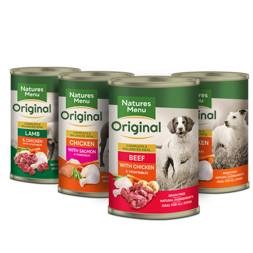 Natures Menu Multipack Adult Dog Food Cans 400g x 36