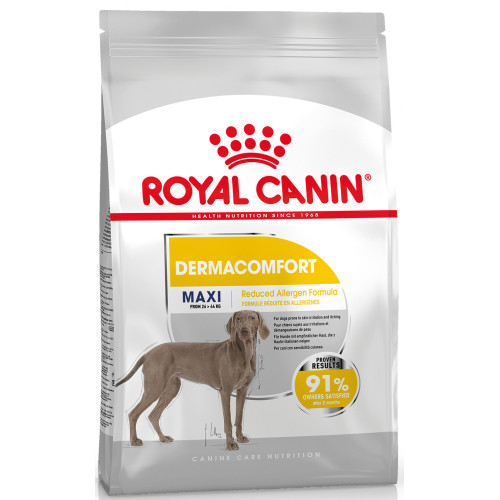 Royal Canin Maxi Dermacomfort Adult Dry Dog Food 10kg x 2