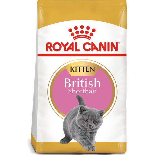 Royal Canin British Shorthair Kitten Dry Cat Food 10kg x 2