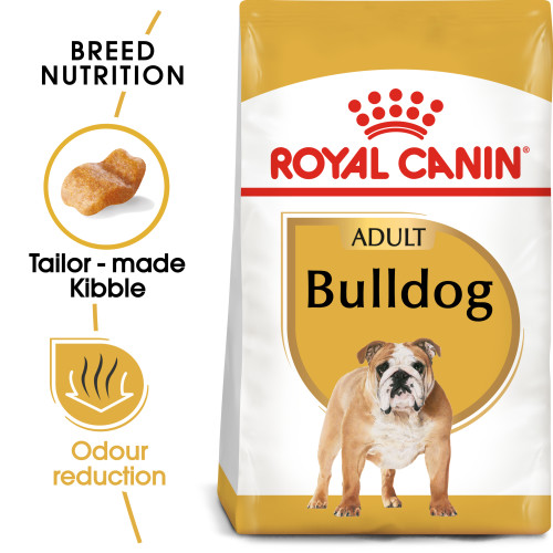Royal Canin Bulldog Adult Dry Dog Food 12kg x 2