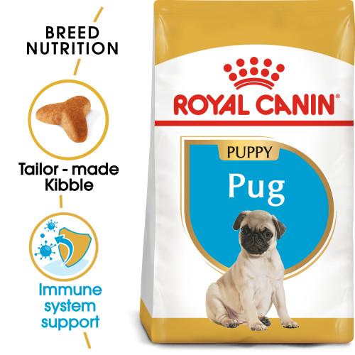 Royal Canin Pug Junior Dog Food 1.5kg x 4