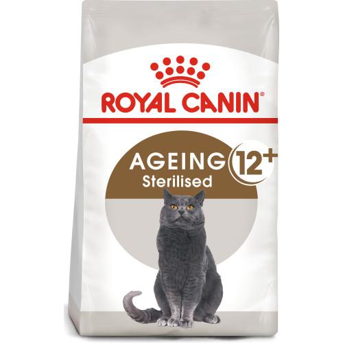 Royal Canin Ageing Sterilised 12+ Dry Adult Senior Cat Food 4kg