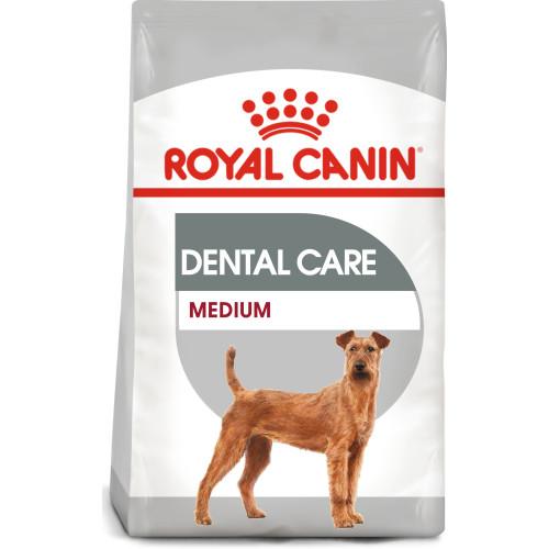 ROYAL CANIN Medium Dental Care Adult Dry Dog Food 10kg x 2