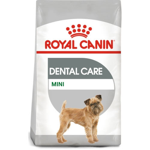 ROYAL CANIN Mini Dental Care Adult Dry Dog Food 8kg x 2