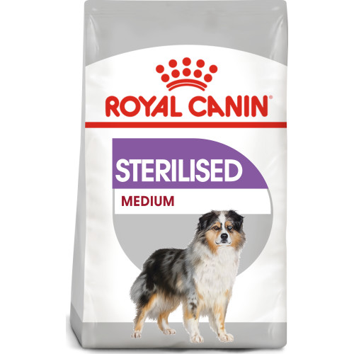 ROYAL CANIN Medium Sterilised Care Adult Dry Dog Food 10kg x 2