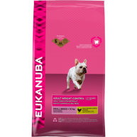 Eukanuba Weight Control Small Breed Adult Dog Food 3kg x 3