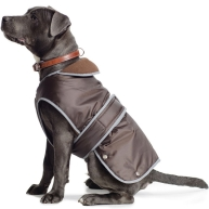 Ancol Muddy Paws Stormguard Chocolate Dog Coat  Small