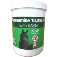 NAF Glucosamine 10,000 Plus with MSM Horse Supplement 900g