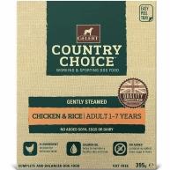 Gelert Country Choice Chicken & Rice Tray 395g x 10