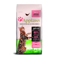 Applaws Chicken & Salmon Dry Adult Cat Food 2kg