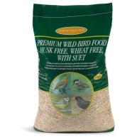 Johnston & Jeff Premium Husk Free, Wheat Free with Suet Wild Bird Mix