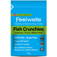 Feelwells Crunchies Fish Dog Treats 90g
