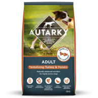 Autarky Turkey & Potato Adult Dog Food  12kg x 2