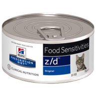 Hills Prescription Diet Feline ZD Ultra Allergen Free Canned 156g x 72