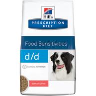 Hills Prescription Diet DD Food Sensitivities Dry Dog Food Salmon & Rice 12kg