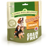 James Wellbeloved Minijacks Dog Treats 90g Cereal Free Turkey