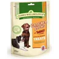 James Wellbeloved Crackerjacks Dog Treats 225g - Turkey